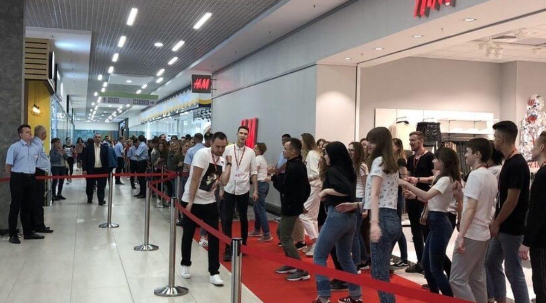 H&M открытие отдела, 12 сентября 2019г