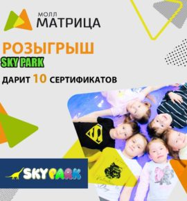 Розыгрыш от Sky Park Ижевск, 11 ноября 2019г